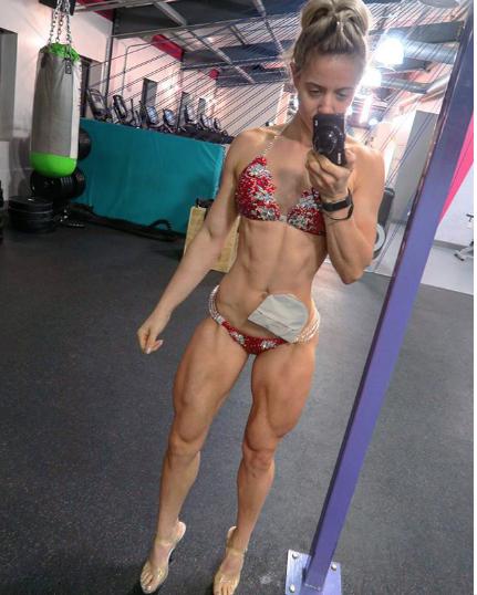 Зои Райт, фитнес-модель. Фото www.instagram.com/zoeywrightfitness