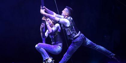 Международный цирковой фестиваль. Фото AFP