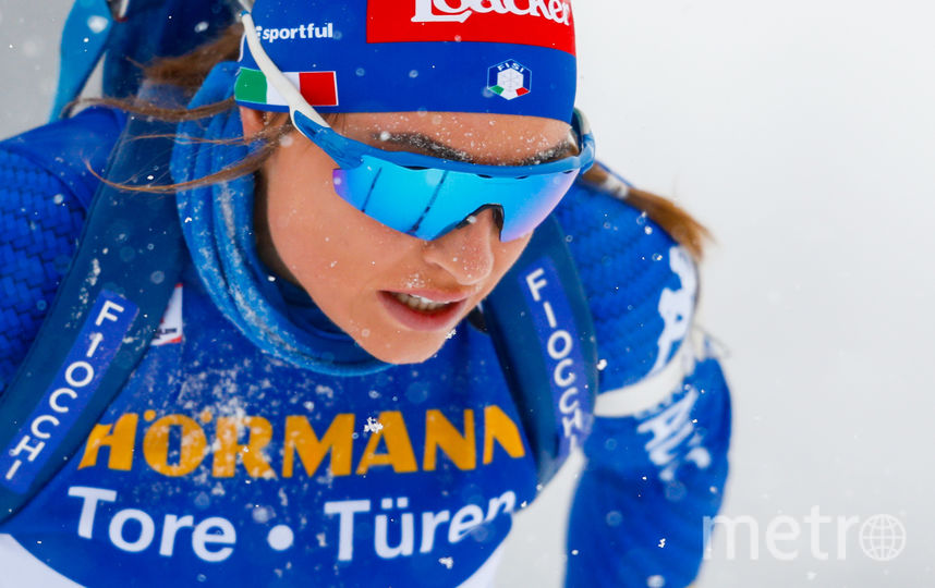 Итальянская биатлонистка Доротея Вирер. Фото Getty