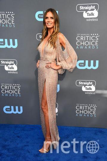 Звёзды на Critics' Choice Awards-2018. Хайди Клум. Фото Getty