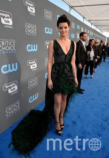 Звёзды на Critics' Choice Awards-2018. Джейми Александер. Фото Getty