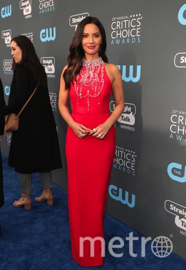 Звёзды на Critics' Choice Awards-2018. Оливия Манн. Фото Getty