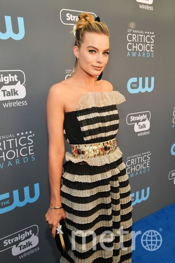 Звёзды на Critics' Choice Awards-2018. Марго Робби. Фото Getty