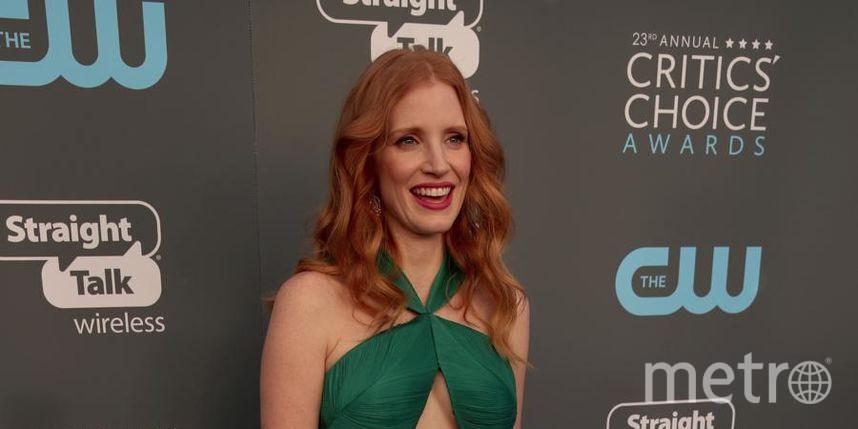 Звёзды на Critics' Choice Awards-2018. Джессика Честейн. Фото Getty