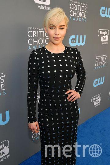 Звёзды на Critics' Choice Awards-2018. Эмилия Кларк. Фото Getty