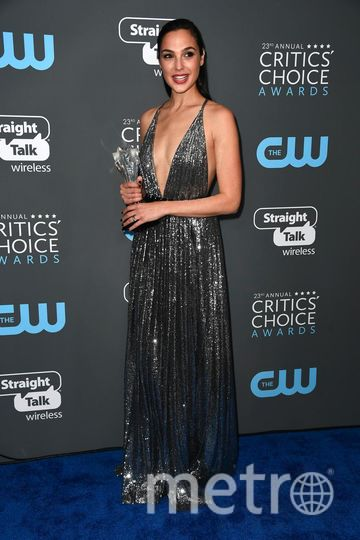 Звёзды на Critics' Choice Awards-2018. Галь Гадот. Фото Getty