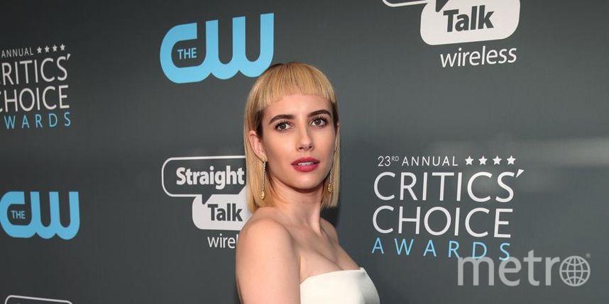 Звёзды на Critics' Choice Awards-2018. Эмма Робертс. Фото Getty