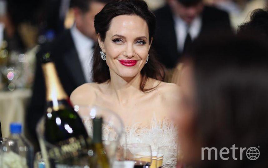 Звёзды на Critics' Choice Awards-2018. Анджелина Джоли. Фото Getty