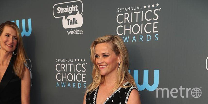 Звёзды на Critics' Choice Awards-2018. Риз Уизерспун. Фото Getty