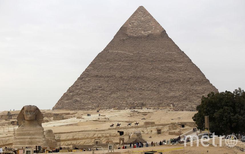 Пирамида Хеопса. Египет. Фото Getty