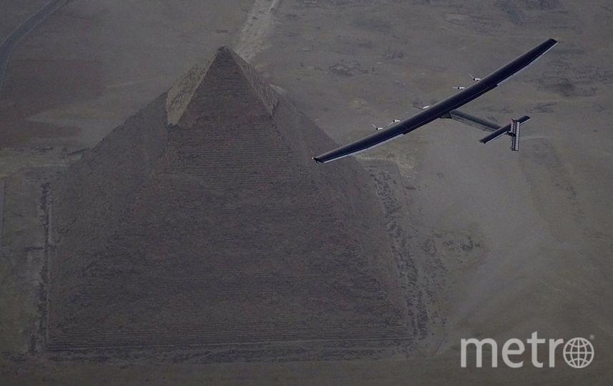 Вид на пирамиду Хеопса с воздуха. Фото Getty