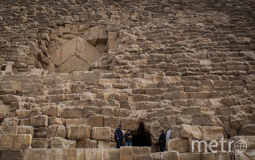 Основание пирамиды Хеопса. Фото Getty