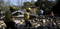 Бедствие в Калифорнии: оползни разрушают дома звёзд и убивают людей