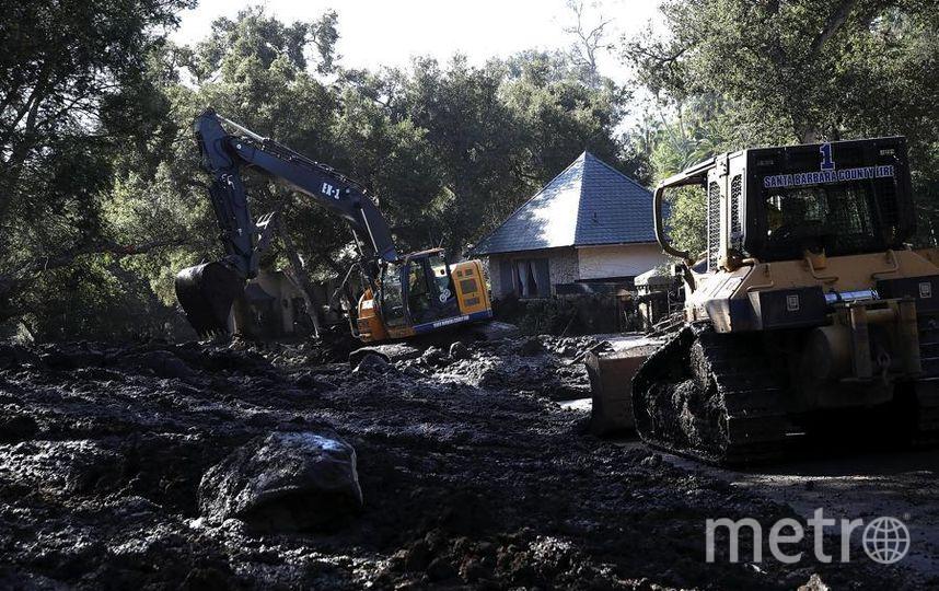 Оползни разрушают дома, есть погибшие в Калифорнии. Фото Getty