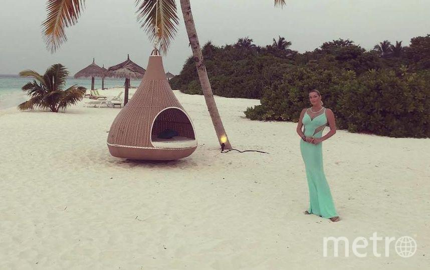 Отдых на Мальдивах. Фото instagram.com/volochkova_art