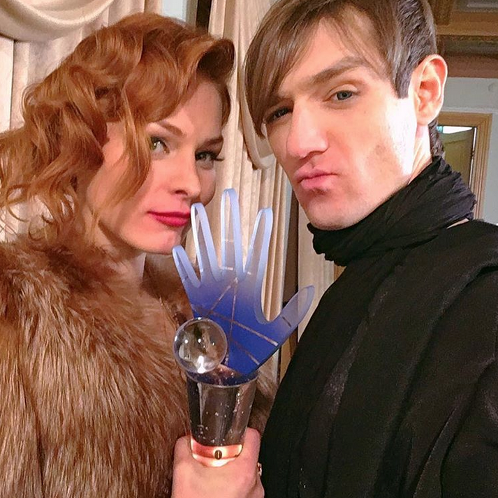 Мэрилин Керро и Александр Шепс. Фото Скриншот Instagram: @alexandersheps.ru