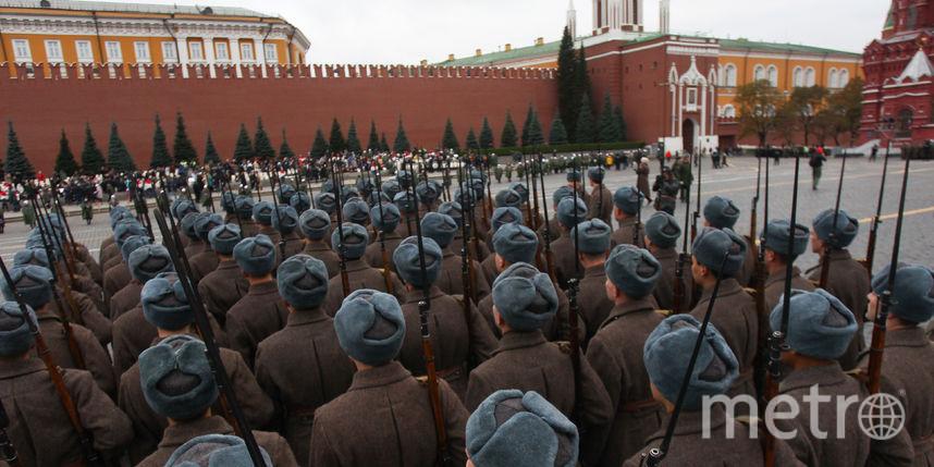 Парад на Красной площади в Москве. Фото Василий Кузьмичёнок