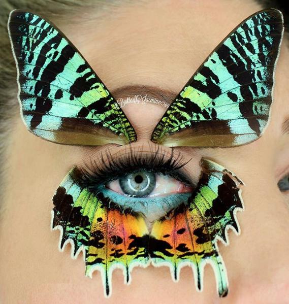 Работа Жасмин Ахумады. Фото Скриншот Instagram: butterflyjasmine49