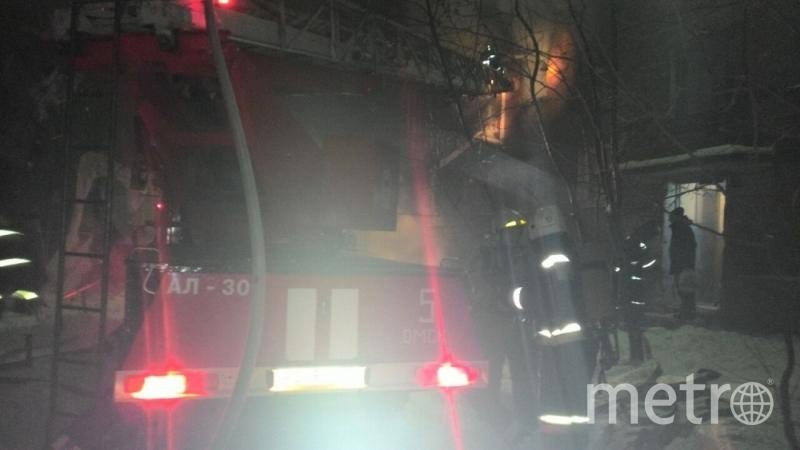 Фото с места происшествия. Фото МЧС России.