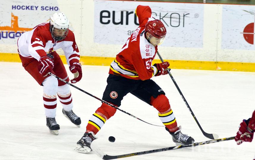 """Игроки хоккейного клуба из Китая """"Куньлунь"""". Фото Пресс-служба КХЛ"""