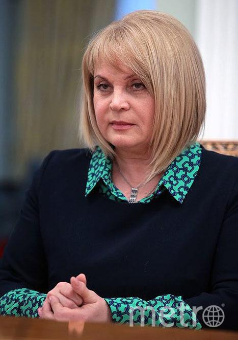 Глава ЦИК Элла Памфилова. Фото Wikipedia/kremlin.ru