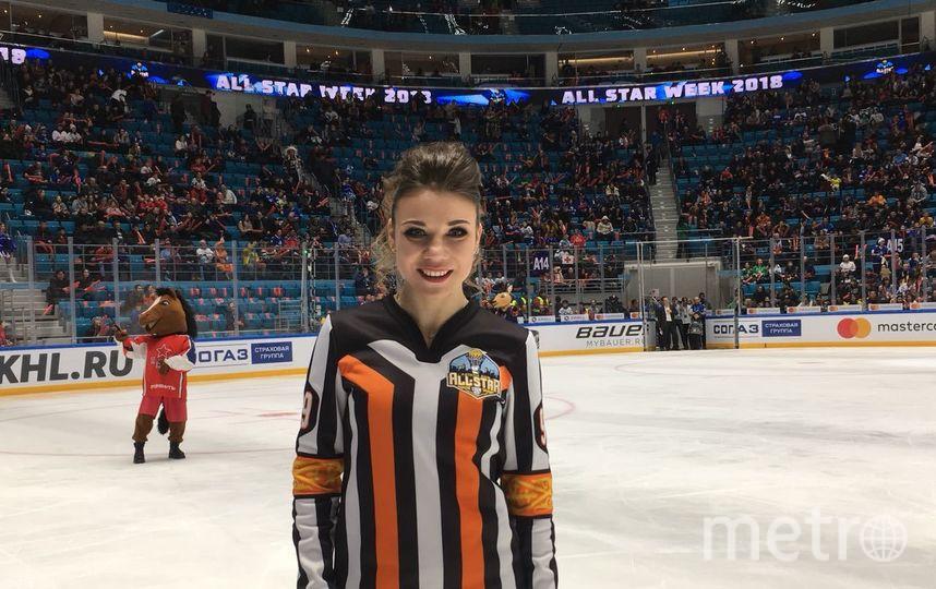 Дарья Абросимова. Фото Предоставлено КХЛ