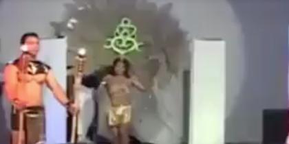 Участница конкурса красоты загорелась прямо на сцене