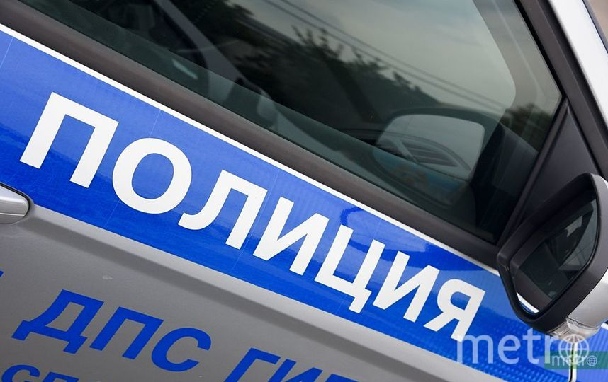 "Автомобиль ДПС. Фото Василий Кузьмичёнок, ""Metro"""