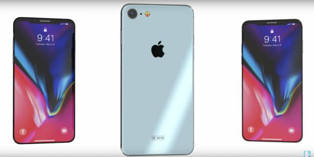 Концепт iPhone SE от Concept Creator.