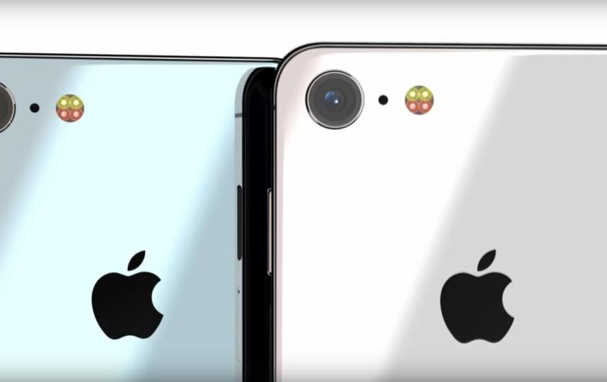 Концепт iPhone SE от Concept Creator. Фото Concept Creator, Скриншот Youtube