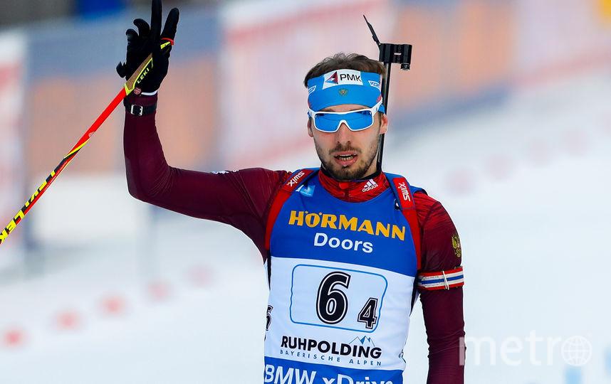 Российский биатлонист Антон Шипулин. Фото Getty