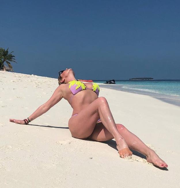Анастасия Волочкова на отдыхе. Фото Instagram @volochkova_art