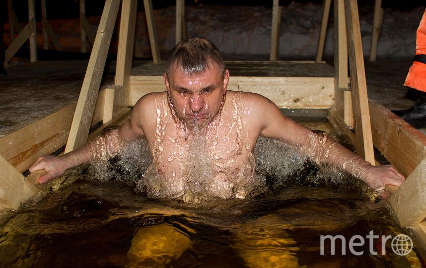 Крещенские купания. Фото Василий Кузьмичёнок