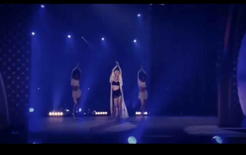 Светлана Лобода. Скриншот видео с выступления. Фото instagram.com/lobodaofficial