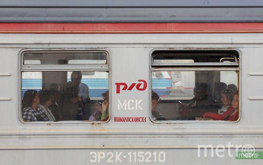 "Электричка. Фото Василий Кузьмичёнок, ""Metro"""