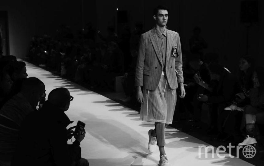 Коллекция Yoshio Kubo на Неделе моды в Милане. Фото Getty