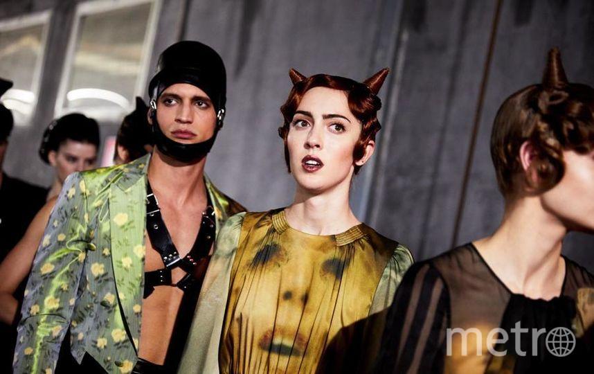 Показы на Неделе моды в Милане. Фото Getty