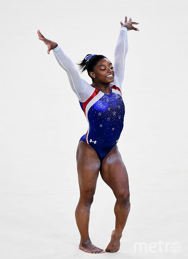 Американская гимнастка Симона Байлз. Фото Getty
