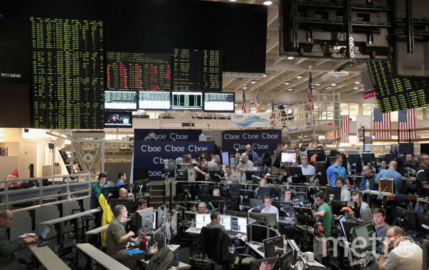Курс биткоина упал на 12%. Фото Getty