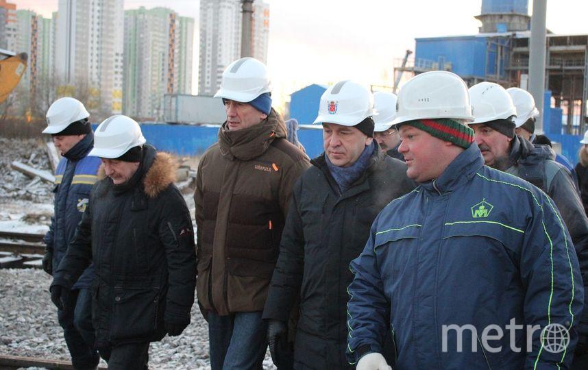 16 января проверили, как идет строительство новых станций метро. Фото пресс-службы Игоря Албина., vk.com