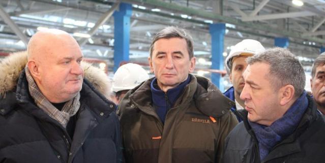 16 января проверили, как идет строительство новых станций метро.