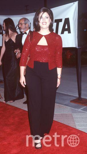 Моника Левински в молодости и сейчас. Фото Getty