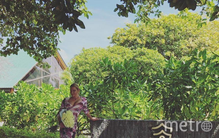 Анастасия Волочкова на Мальдивах. Фото instagram.com/volochkova_art