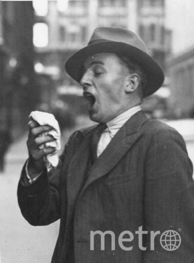Англичанин порвал глотку, пытаясь не чихнуть. Фото Getty