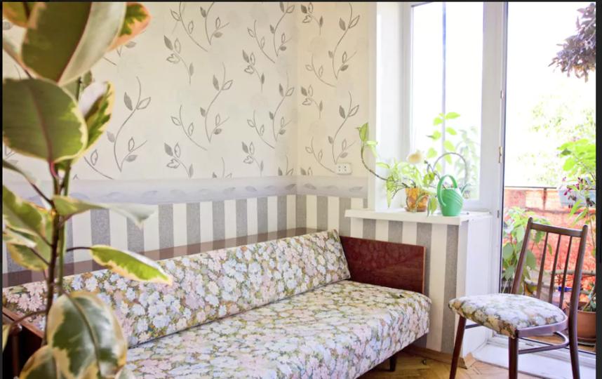Эта комната на Остоженке в дни Чемпионата будет стоить в 4 раза дороже обычного. Фото скриншот airbnb.ru