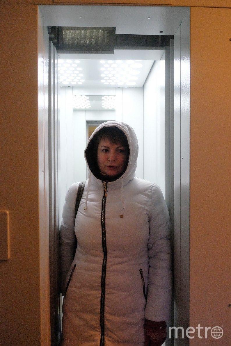 Лифт в одном из петербургских домов. Фото все - Алена Бобрович.