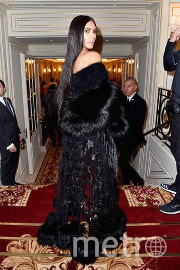 Ким Кардашьян в третий раз стала мамой. Фото Getty