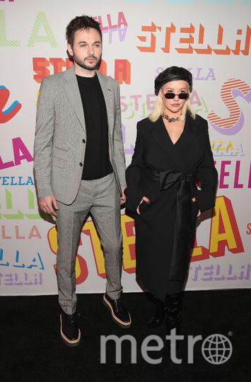 Вечеринка у Стеллы Маккартни. Кристина Агилера и Мэттью Ратнер. Фото Getty
