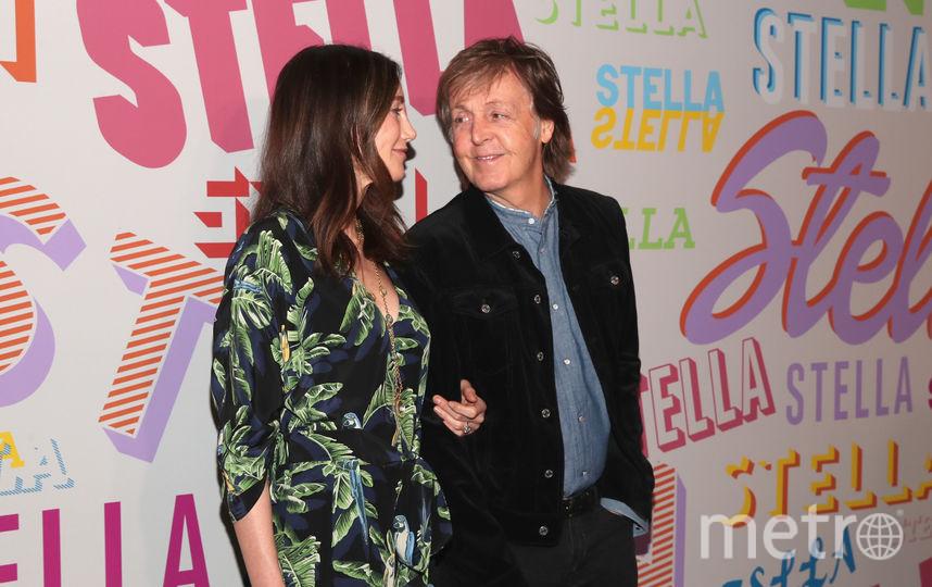 Вечеринка у Стеллы Маккартни. Пол Маккартни с женой Нэнси. Фото Getty