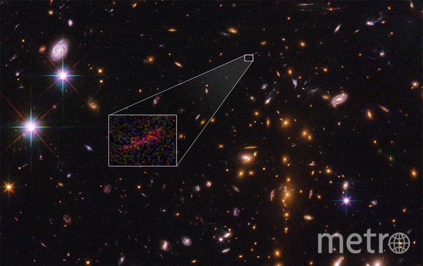 Галактика. Фото NASA/ESA/B. SALMON (STSCI)
